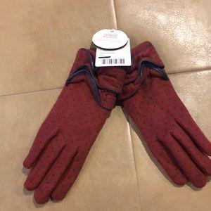 Anthropologie new fleece gloves